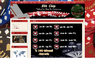 Elit Chip Zynga Texas Holdem Poker
